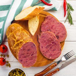 Мясной продукт из мяса конины