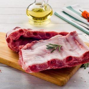 Ребрышки для жарки оригинальные свиные без этикетки