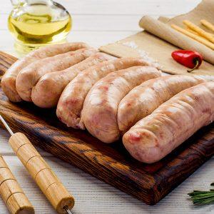 Колбаски для гриля пикник без этикетки