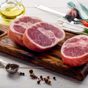 Рагу из свинины пряное без этикетки