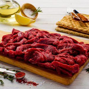 Бефстроганов из говядины без этикетки