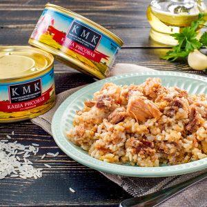 Каша рисовая со Свининой M