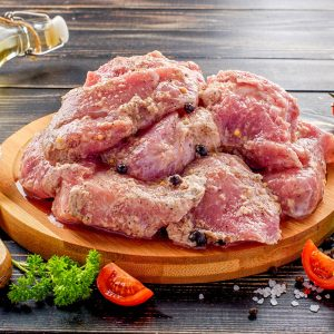 Шашлык из свинины в майонезе